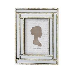 Ramka Na Zdjęcie 13x18cm Srebrna Kolekcja Pałacowa