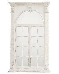 Stylowa Rama Lustro Kremowy Prowansalski 132x83 cm