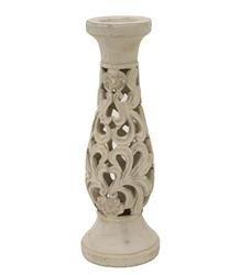 Świecznik Dekoracyjny Ceramika H:39,5cm