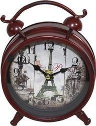 Zegar A'La Budzik Retro Paris 21x16cm