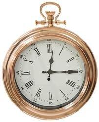Zegar wiszący ozdobny stylowy złoty klasyczny