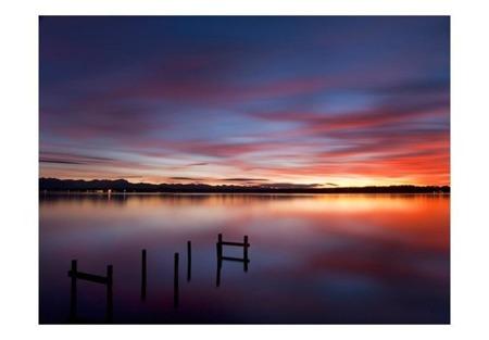 Fototapeta - Gładka tafla jeziora