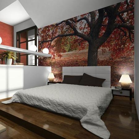 Fototapeta - Jesienne drzewo