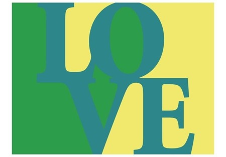 Fototapeta - Love is the answer