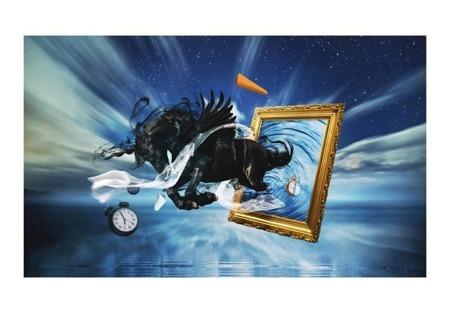 Fototapeta - Materializacja snów