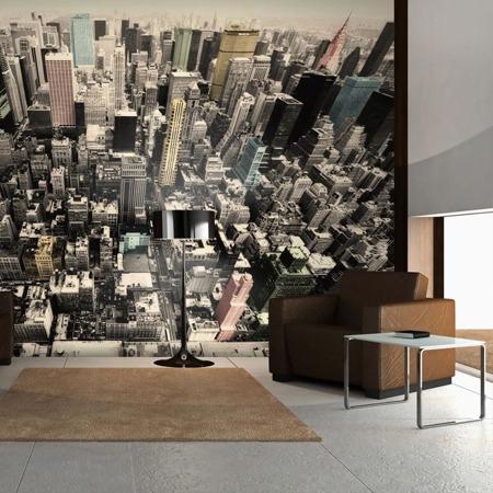 Fototapeta - Nowy Jork w pastelach