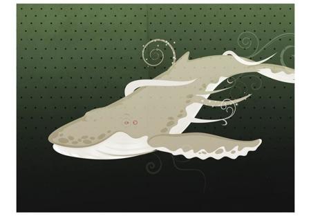 Fototapeta - Podwodne stworzenie