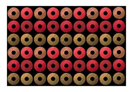 Fototapeta - Red wheels