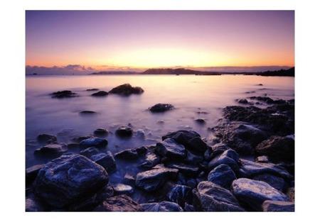 Fototapeta - Spokojne morze - zachód słońca