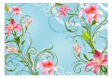 Fototapeta - Subtelne piekno lilii II