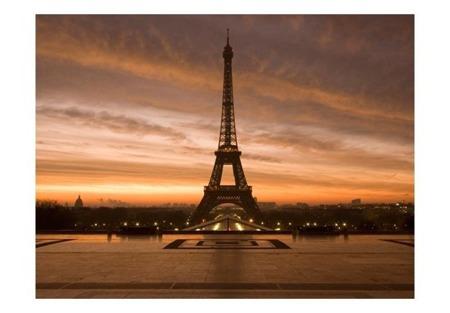 Fototapeta - Wieża Eiffla o świcie