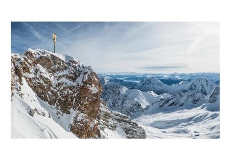 Fototapeta XXL - Zima w Zugspitze