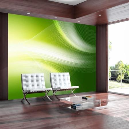 Fototapeta - Zielone abstrakcyjne tło