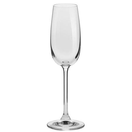 Kieliszki do szampana 170 ml Komplet 6szt Berretti