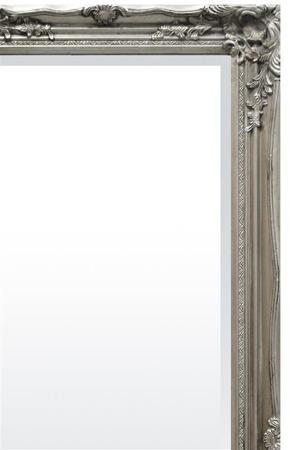 Stylowa Rama lustro srebrny