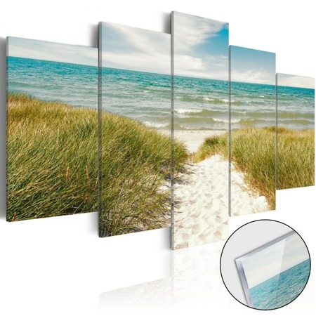 Obraz na szkle akrylowym - Morska melodia [Glass]