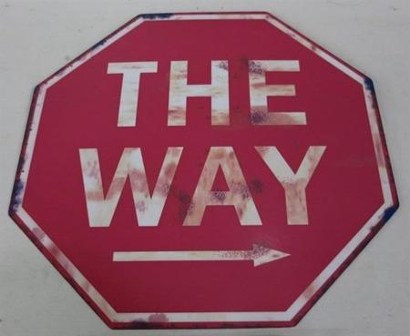 Obrazek metalowy The Way